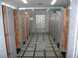 女性用トイレ室内 和式トイレ、洋式トイレ