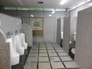 男性用トイレ室内 和式トイレ、洋式トイレ