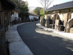 神城の宿 遊歩道
