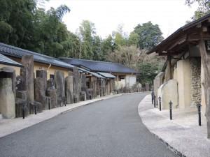 天の川 神城の宿へ続く遊歩道