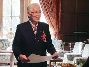 野田総理(当時)より感謝状