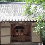 神城文化の森 7月の神城神社