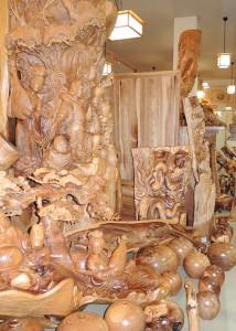 森林セラピー基地市房山・ 市房杉(樹齢1,000年) 七福神