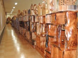世界自然遺産登録地屋久島・屋久杉  自然棚、飾り棚