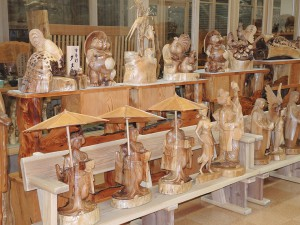 フォレスト神城文化の森 市房杉記念館 完成品
