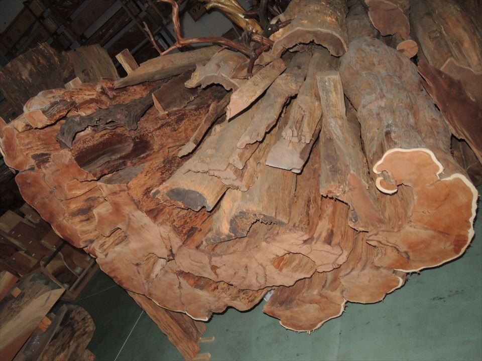 アララギ(一位) 樹齢1,000年以上  御神木 熊本県人吉五木村産 天然乾燥20年以上