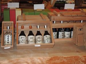 世界自然遺産登録地屋久島・屋久杉の木箱付き  720mlの一本入 720mlの4本入