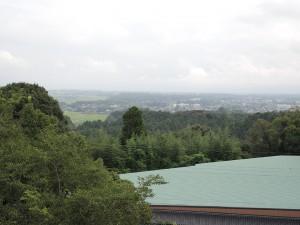 神城 展望所からの眺め 白髪岳が見えます