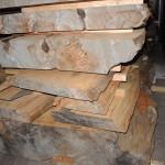世界自然遺産登録地屋久島 屋久杉の盤木 天然乾燥材 2日目