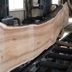 鹿児島木材市場より購入した木の製材 第2日目 センダンの製材