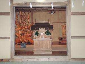 白蛇神の神殿